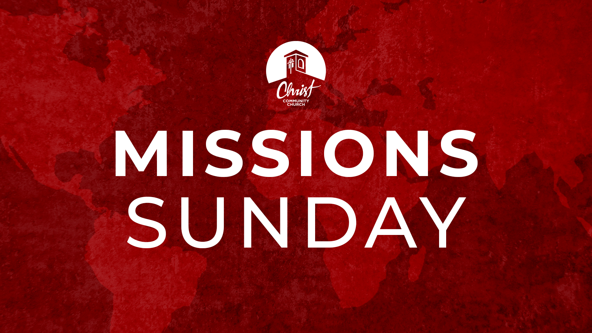 Missions Sunday 2021